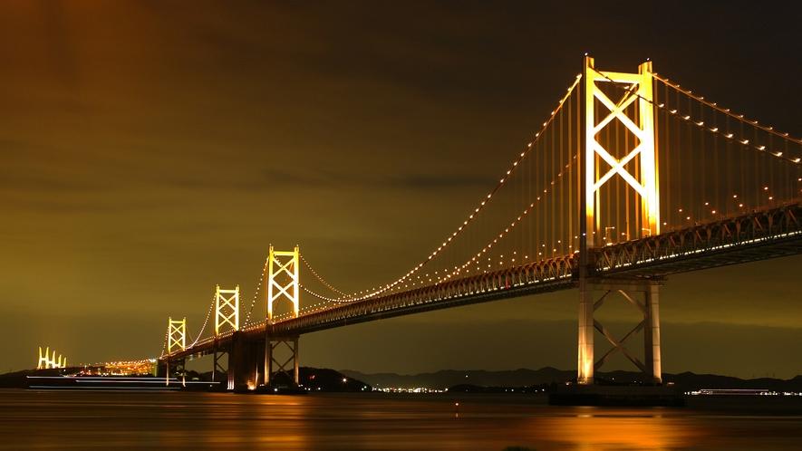 【瀬戸大橋】人工衛星写真でも確認できる長大橋