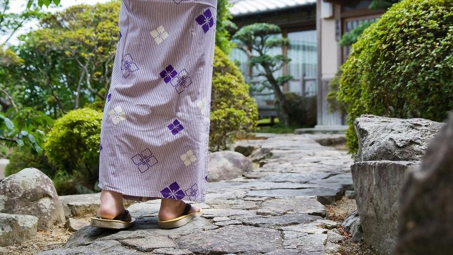 庭園を散策して和の心を感じる