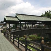 【鞘橋】金刀比羅宮の祭礼の時だけに使用されています