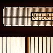 【数寄屋造り離れ/延寿閣】伝統的な様式美を盛り込んだ建築が随所に
