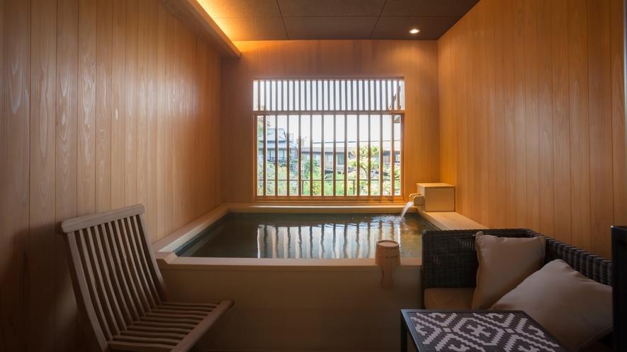 【山翠閣/専有露天風呂付和洋室B】日本庭園を眺めながら贅沢な温泉時間を