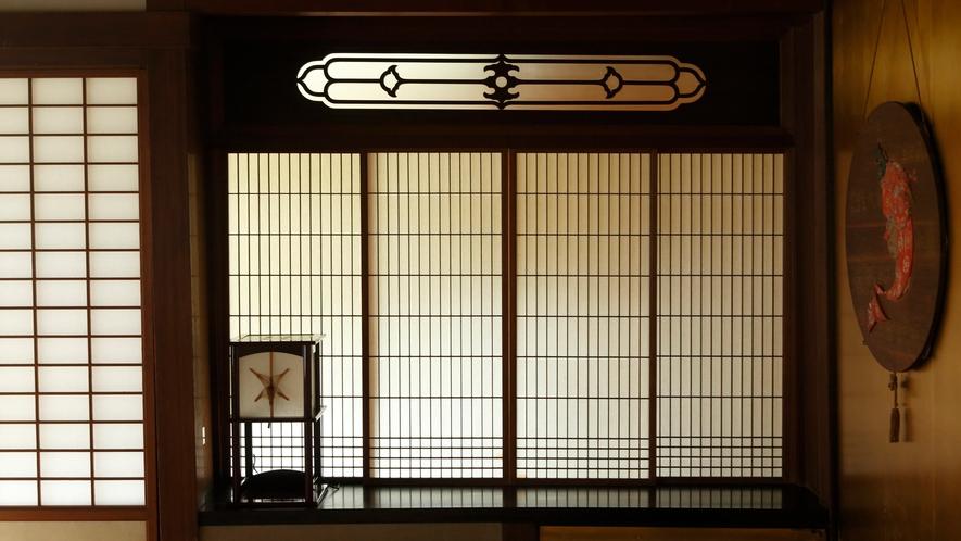 【数寄屋造り離れ/長生殿】茶室建築を取り入れた伝統的な様式美