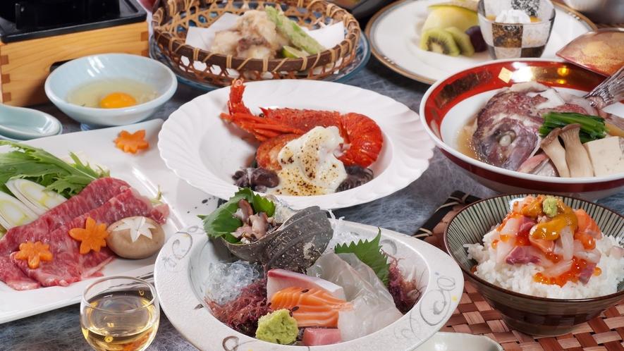 夕食 汐彩の膳(イメージ)