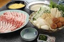 赤らくの夕食メニュー『豚の塩しゃぶ』