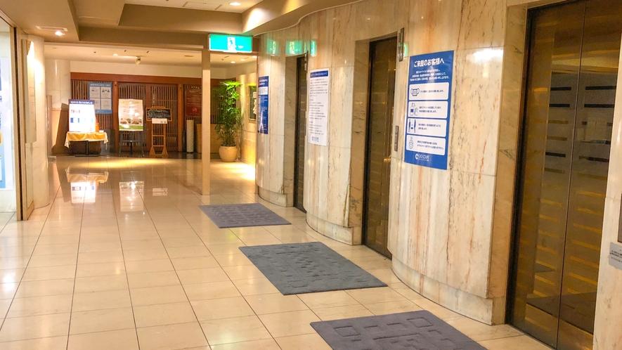 フロント エレベーター
