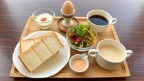 朝食イメージ コンチネンタルブレックファスト