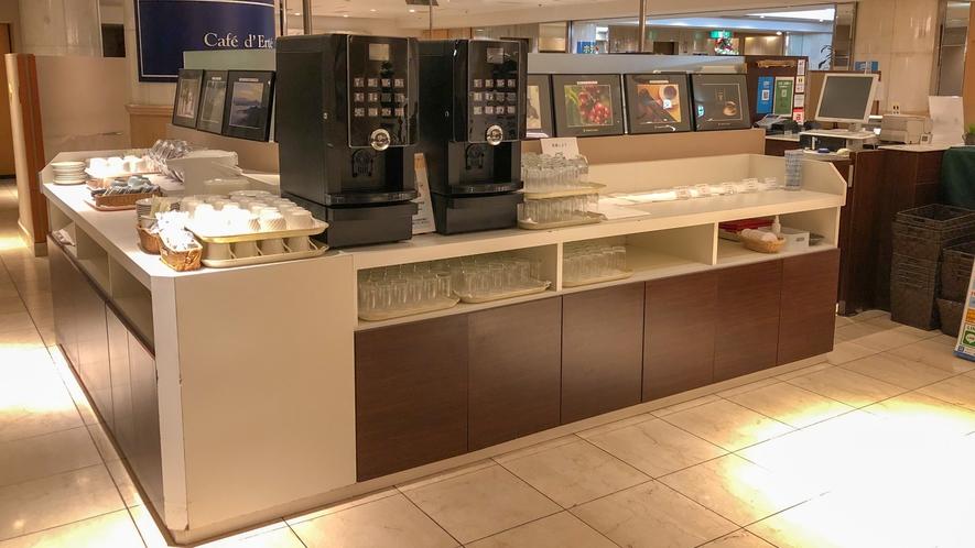 朝食会場【カフェ・ド・エルテ】 ドリンクバー