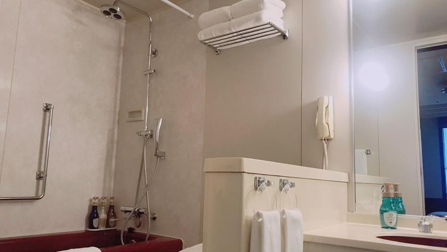バスルーム                                (エグゼクティブスイート)