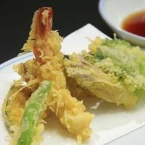 季節の彩り天ぷら