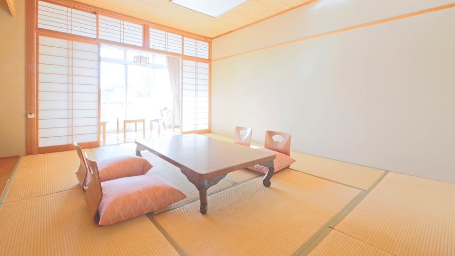 *【和室8~10畳】落ち着いた客室で、ゆっくりとお寛ぎください。