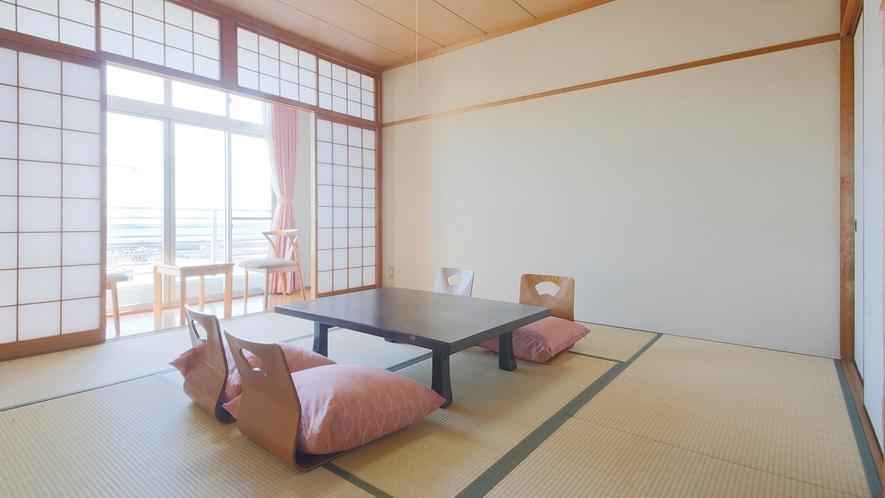 *【和室8畳】落ち着いた客室で、ゆっくりとお寛ぎください。