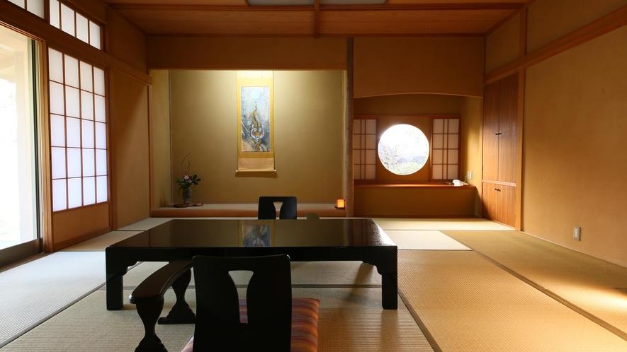 本館離れ【内風呂/和室12.5畳】朝日