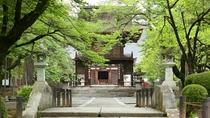 当館から車で10分でアクセス可能の恵林寺へぜひ足をお運びください