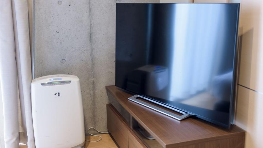 【本館/禁煙】コンフォートキング  46インチテレビやインテリア、小物にこだわりオシャレな空間