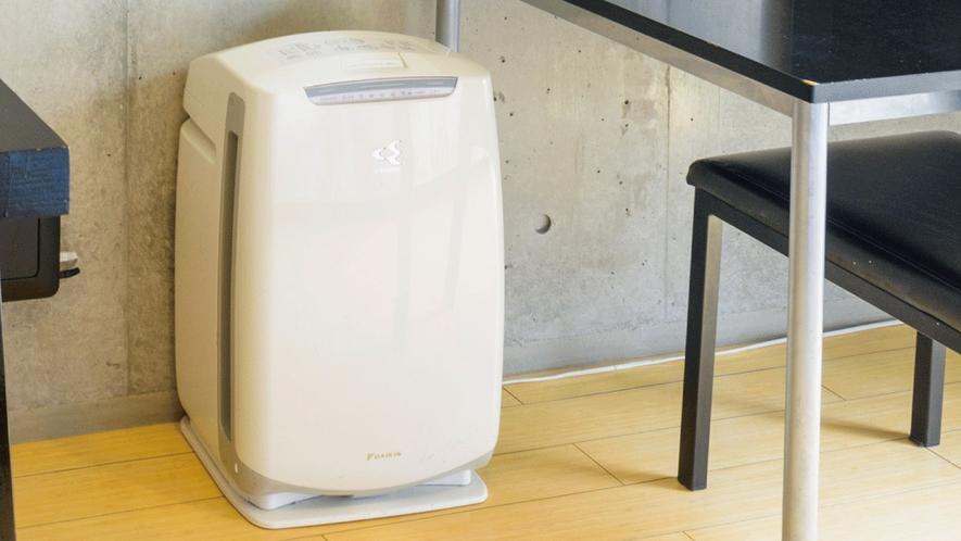 【本館/禁煙】客室備品  空気清浄機常設