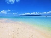 竹富島自慢のコンドイビーチ、がっつり泳いで下さい!