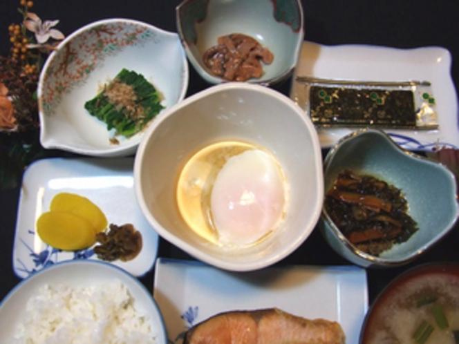 郷土料理プラン朝食例