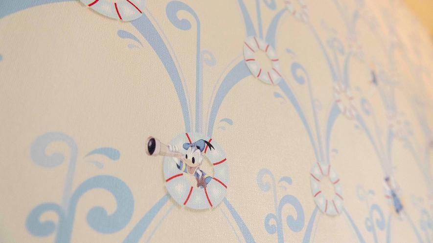 ドナルドダックルームのモチーフ(イメージ)(C)Disney
