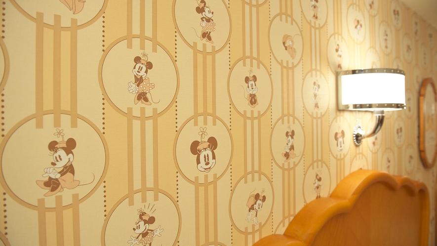 ミニーマウスルームのモチーフ(イメージ)(C)Disney