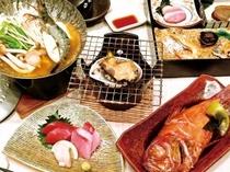 ■夕食:金目鯛の煮つけはホテルオリジナルテイストに仕上げています♪