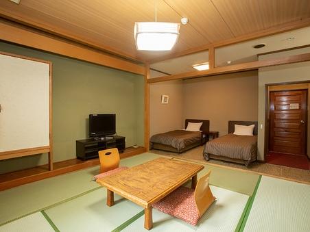 別館 和洋室タイプ 2ベッドと和室8畳【喫煙】のお部屋