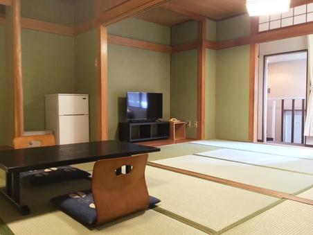別館 和室6畳二間【喫煙】タイプ【専用温泉つき】