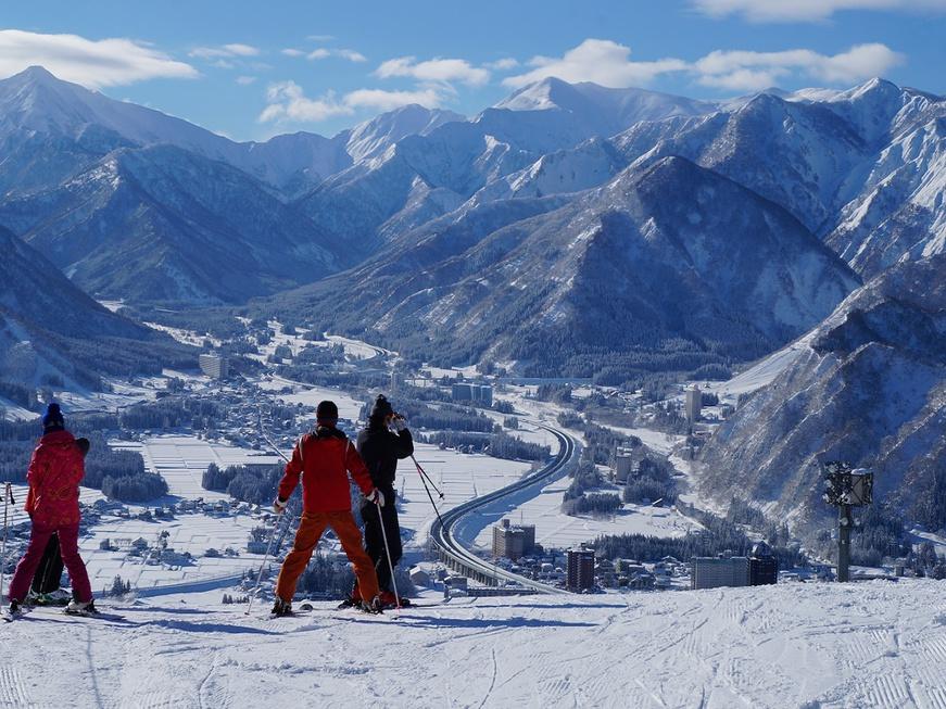 岩原スキー場はキッズやビギナーでも安心して楽しめます♪