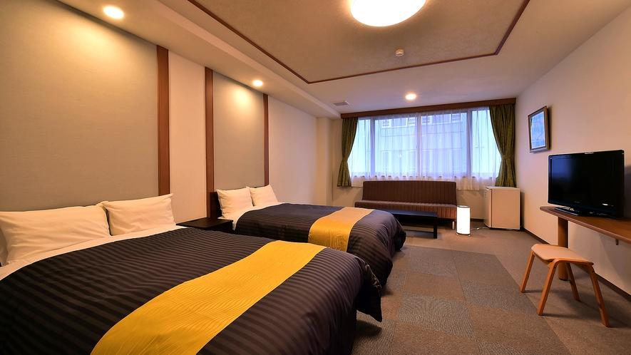 洋室ツインルームの一例