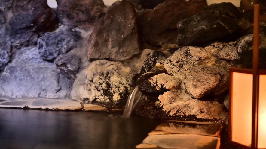 ホテル圓山荘は源泉かけ流し100%の温泉です