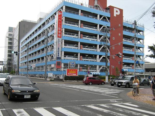 ホテルアソシア静岡 駐車場のご案内