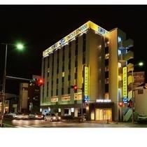 スーパーホテル松本駅前夜間景観
