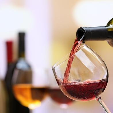 【美食とワイン】 <上高地フレンチ特選ディナー>にソムリエが厳選したグラスワイン3杯付いた美食プラン