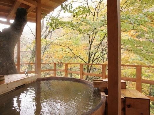 【秋冬旅セール】スタンダードプランを特別価格で!絶景貸切露天風呂30分無料!