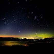 ◆澄んだ空に輝く星空