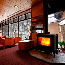 ◆冬は暖炉でほっこり