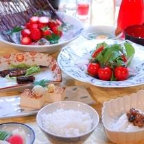 ◆野菜やフルーツたっぷりのご朝食一例