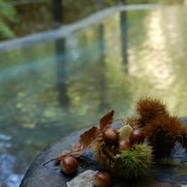 ◆仙人露天岩風呂 紅葉の美しさも楽しみながら