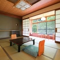 ◆温玉荘 松川渓谷が望めるお部屋【10畳】