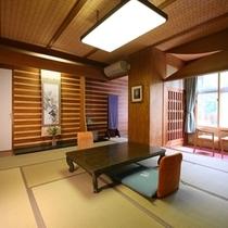 ◆温玉荘 松川渓谷が望めるお部屋【12.5畳】