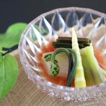 ◆冬瓜のトマト冷製仕立て(夏のイメージ)