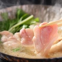 ◆信州ハーブ鶏鍋