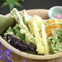 ◆季節の天ぷら