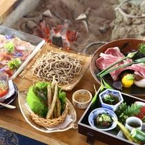 ◆朝日屋亭のお料理 一例