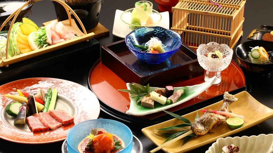 「贅沢ご飯」ご夕食一例(夏)