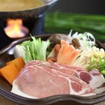 ◆もちもち信州米豚のお鍋