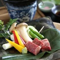 ◆信州牛の陶板焼き