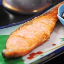 鮭の切り身 塩焼き