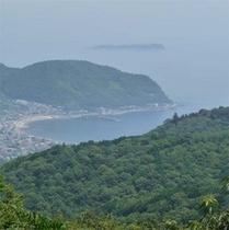 【周辺】散歩コースからは海も見えます