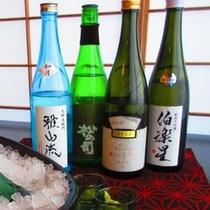 秋の特選日本酒4銘柄