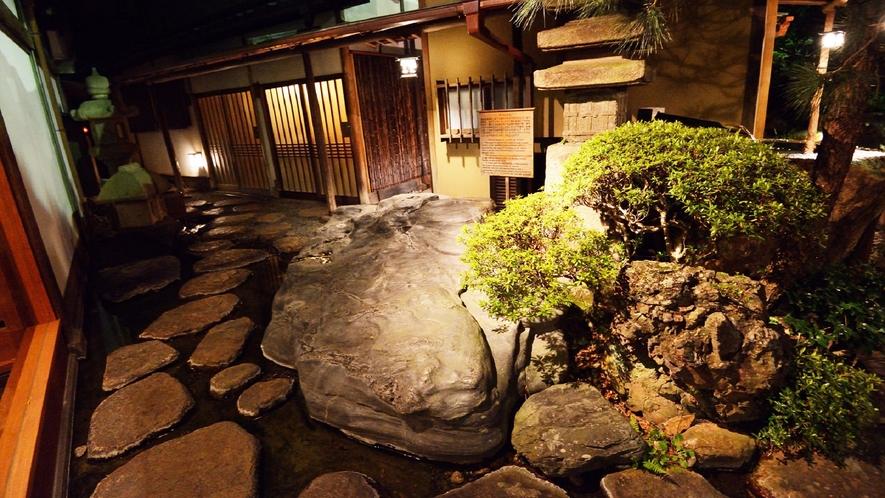 庭園 水石